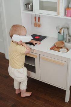 Ikea Toy Kitchen Hack, Kitchen Hacks, Modern Kids Toys, Ikea Toys, Scandinavian Kids Rooms, Teen Bedroom Designs, Girls Bedroom, Kids Room Paint, Kids Furniture