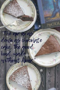 Dense, rich, decadent and extremely simple to make, this flourless chocolate cake will be magic at any dessert (or breakfast) table.