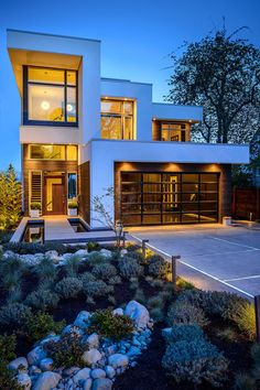 Ultra-sleek modern property: The Dwell On Despard garage