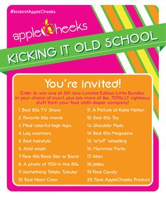 Kickin' It Old School totally tubular invite! applecheeksdipe Kickin' It Old School totally tubular invite! Kickin' It Old School totally tubular invite! Best 80s Tv Shows, Brand Name Purses, Best Cloth Diapers, Kickin It Old School, 80s Party, Partying Hard, Youre Invited, Best Brand, Good To Know
