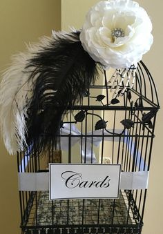 A personal favorite from my Etsy shop https://www.etsy.com/listing/292909949/wedding-birdcage-card-holder-wedding