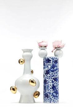 Delft Blue No. 11 & 2 by Marcel Wanders