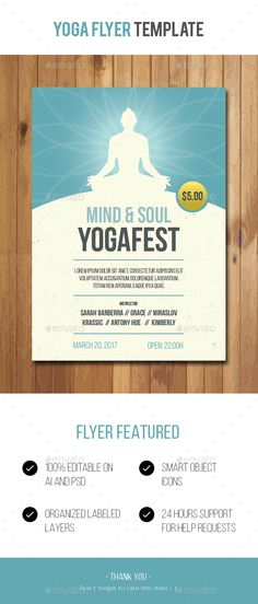 Yoga Conference Flyer Flyers, Event flyers and Yoga - yoga flyer