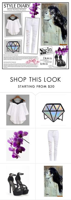 """Loving White."" by karies ❤ liked on Polyvore"