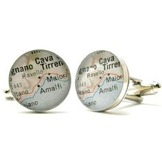 A destination known for its undisputed beauty, the Amalfi Coast is a popular destination for any traveler. These cufflinks have been designed & created by myself in my studio. Set in sterling silver.