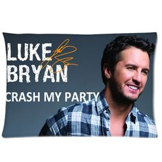 "Luke Bryan  Crash My Party Pillowcases 20"" x 30"""