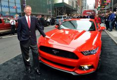 2015 Ford Mustang unveiled exclusively in New York City | Car Fanatics Blog Beta