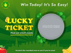 Scratch and Win Movie Tickets!  #contest #win #movie tickets