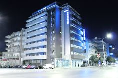Hotel Rotonda is a three star hotel in Thessaloniki, located near the Central Railway Station, perfect both for business and leisure travelers. Thessaloniki, Marina Bay Sands, Multi Story Building, Exterior, Travel, Viajes, Destinations, Traveling, Outdoor Rooms