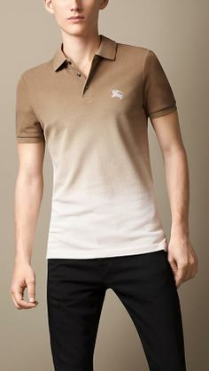 Burberry Brit Dip-Dye Polo Shirt