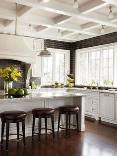 .Coffered Ceiling
