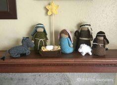 Amigurumi Nativity Free Download : Amigurumi nativity scene crochet pattern pdf instructions