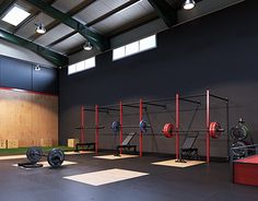 """Check out new work on my @Behance portfolio: """"CG Warehouse Crossfit Box"""" http://be.net/gallery/36802407/CG-Warehouse-Crossfit-Box"""