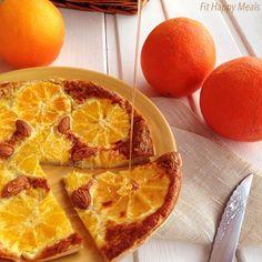 torta de naranja. fit happy meals