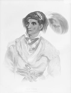 Painting of Tah-chee or Tatsi (aka Dutch) - Cherokee - 1838  Read more: http://amertribes.proboards.com/thread/587#ixzz4ZzvCN5hU