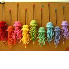 Crochet Jelly Fish are on summer tour!