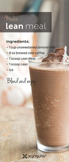 Coffee, Lean, AND Lean Meal?? Yeah. We know.
