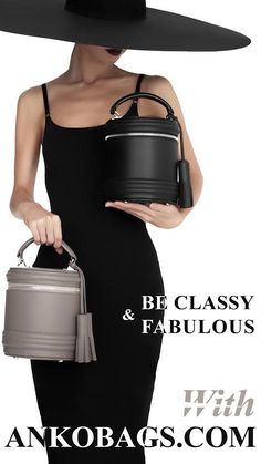 LADY ANNE BARREL is new interpretation of  woman's fashion in a win-win color is worthy to complete your classic style. Be Classy & Fabulous with AnkoBags.com