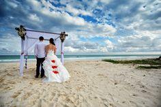 #Hochzeit #Strand #PlayadelCarmen #Zivilzeremonie #RivieraMaya #Bride