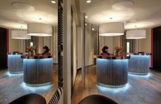 Bold and contemporary reception at G&V Royal Mile Hotel, Edinburgh. The only five-star hotel on the historic Royal Mile, set in the heart of the Scottish capital. Royal Mile Edinburgh, Pizza House, Five Star Hotel, Missoni, Hotels, Contemporary, Interior Design, Dubai, Reception