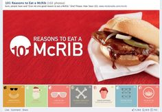 How #McDonald 's uses Facebook, Twitter, Pinterest and Google+