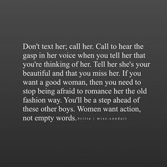 Words and actions quotes, wise words, dating quotes just started, romantic Words And Actions Quotes, Wise Words, Dating Quotes, Relationship Quotes, Relationships, Quotes To Live By, Me Quotes, Moment Quotes, Things To Do With Your Boyfriend