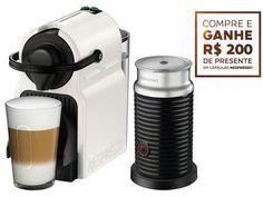 Cafeteira Expresso 19 Bar Nespresso Inissia - Branco com as melhores condições você encontra no Magazine Raimundogarcia. Confira!