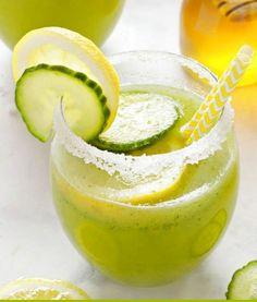 Healthy Cucumber Lemonade | HealthShoot
