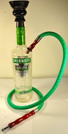 Custom Smirnoff Hookah. Kate would die if we had one like this