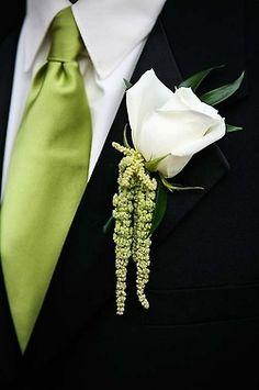 White and Green Wedding boutonniere. Flower Girls, Wedding Groom, Wedding Day, Summer Wedding, Garden Wedding, Destination Wedding, Wedding Photos, Wedding Bouquets, Wedding Flowers