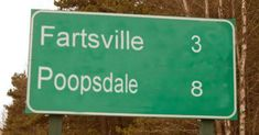 What's the weirdest town name YOU have ever come across? Tell us in the comments!