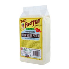 Organic Brown Rice Flour :: Bob's Red Mill Natural Foods