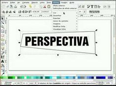 Inkscape tutorial 2 - Perspective tool