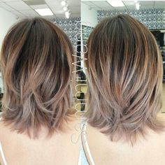 Balayage Ombre / Short Cut