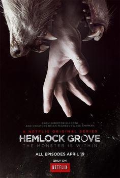 Hemlock Grove (original Netflix). The first season is stunning. It's bloody and gross, but truly stunning.