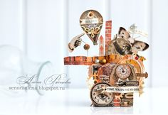 Blog Scrapberry's: with Scrapberry's Inspiration - Edge of town + Mechanical illusions