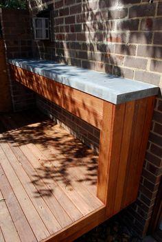 Outdoor Entertaining - BBQ area bench Wanniassa Canberra
