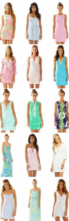 Lilly Pulitzer, just go ahead and take all of my money. The #AfterPartySale is LIVE & all of these dresses are on sale & they're ALL under $100! #buymelilly