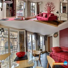 Appartement Duplex 90m2 Paris 1er arrondissement  Unemaisonbleue.com