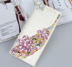 Wholesale Crystal new style genuine Leather purse women clutch lady girl wallet bag design hasp WBG0203