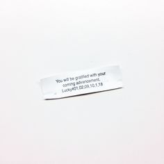 CONGRATULATIONS! YOU ARE ON YOUR WAY! FORTUNE COOKIE - Google Search