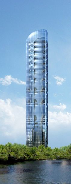 Clean Technology Tower, net zero energy mixed use development, Chicago by  Adrian Smith + Gordon Gill Architects