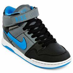 Nike® Mogan Mid 2 Boys Skate Shoes