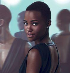 Lupita Nyongo est une icone beauté pour Inopia Cosmetique https://www.inopiacosmetique.fr/ #Darkskin