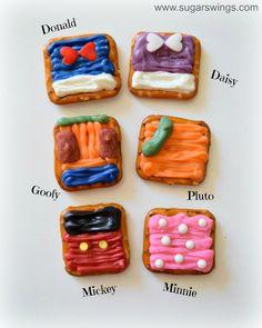 Sugar Swings! Serve Some: Mickey Mouse & Friends Pretzel Snacks