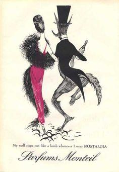 Monteil Nostalgia Parfums Wolf Steps Out (1959)
