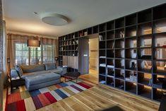 Vila, ktorá prešla premenou a stala sa tak oázou pre moderného človeka Built Ins, Bookshelves, Layout, Beef, Interior Design, The Originals, Stylish, Architects, House