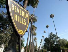 Beverly Hills, Ca. ....even the air smells pretty in the hills:)