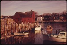 Deborah Parks had her DOCUMERICA assignment in the quaint seaside town of Rockport, Massachusetts. Essex County, Still Picture, Photo Maps, National Archives, Seaside Towns, Gloucester, United States, The Unit, Park