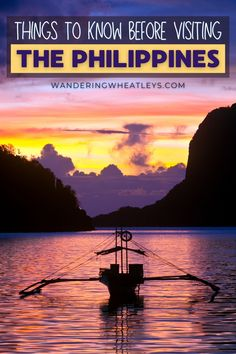 Planning to travel to the Philippines? Here are 15 Things to Know Before Visiting The Philippines that include everything safety to visas, and more! I things to do in Philippines I what to do in Philippines I Philippines safety tips I how to get around the Philippines I Philippines travel I food in the Philippines I travel tips for the Philippines I Philippines travel tips I Philippines advice I Philippines travel advice I information on travel in the Philippines I #Philippines #traveltips